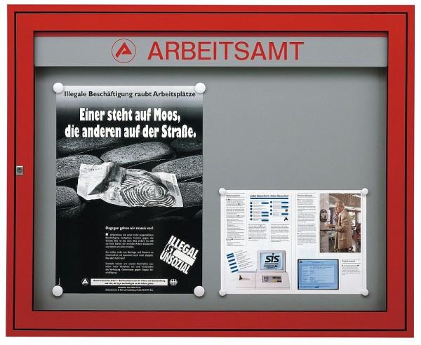 Außen Schaukasten Infomedia M für Wand oder Ständer in div. Größen