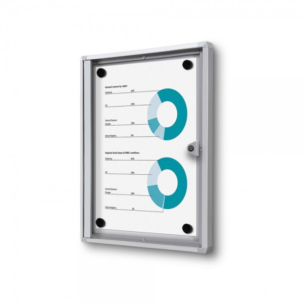 Schaukasten B1 zertifiziert für Innen abschließbar magnethaftend