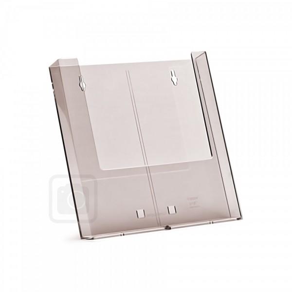 Wand - Prospekthalter für DIN A4 Flyer Wandhalter aus Spritzguss