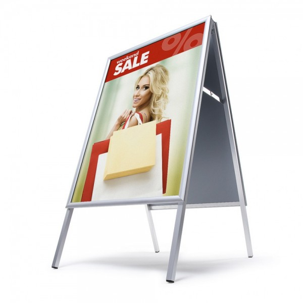 Kundenstopper Indoor für Innen Werbeständer Aufsteller A - Ständer