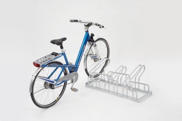 Fahrradständer Bügelparker zweiseitig Typ 2000 4-12 Einstellplätze