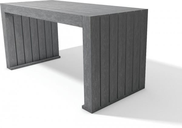 Tisch Calero aus Recycling Kunststoff Gartentisch Außentisch