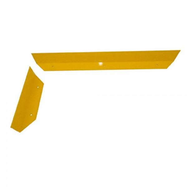 Schrammbord gelb Stahlbügel Rammschutz Anfahrschutz für Stapler