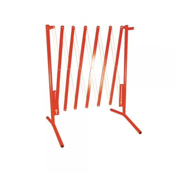 Absperrschere ausziehbar bis 3,5 m Länge mobile Sperre Sperrgitter