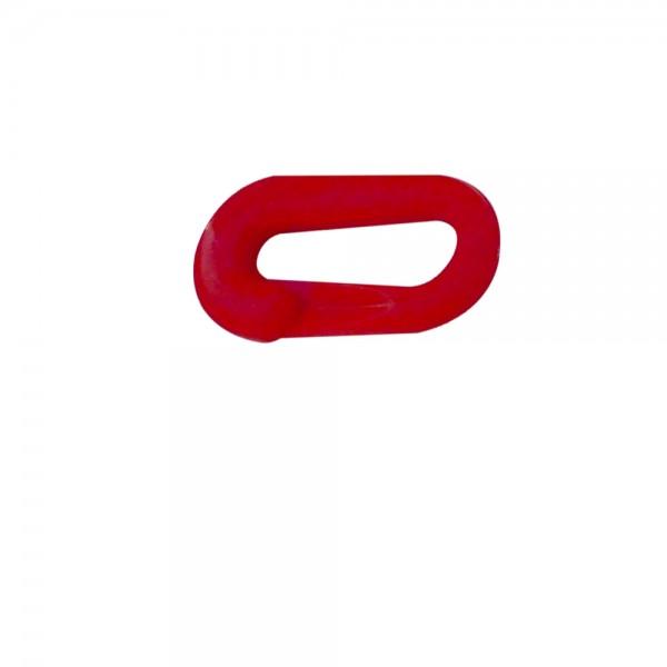 Verbindungsglied für Kette Kunststoff 8mm rot weiß gelb schwarz