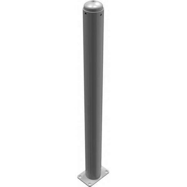 Stilpoller 480PB RAL 7016 zum Aufdübeln mit Bodenplatte
