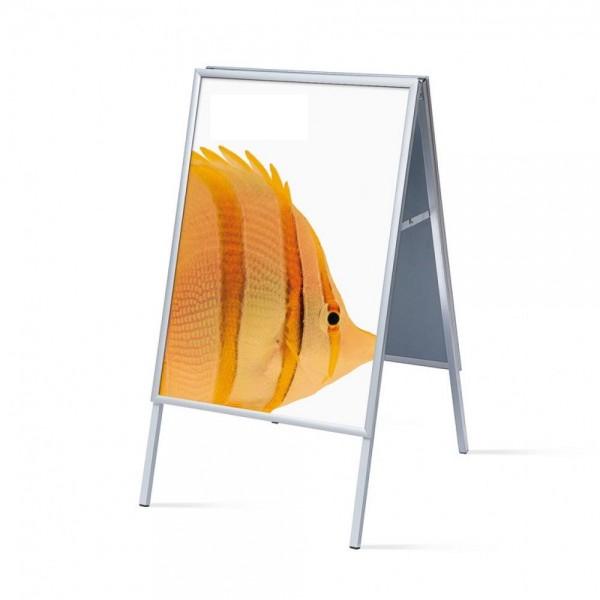 Kundenstopper Design SLIM Werbeständer Aufsteller A-Board