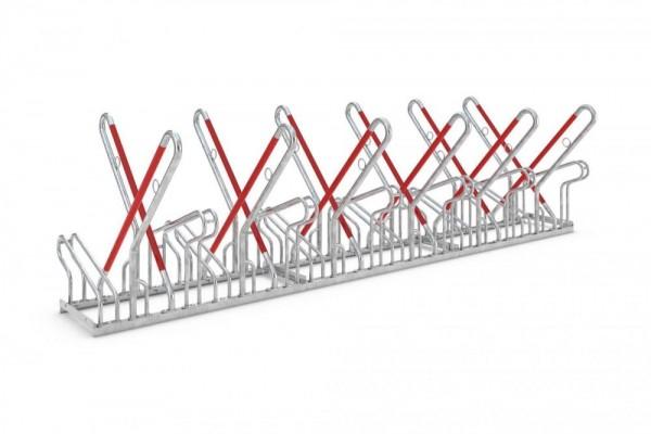 Fahrradständer zweiseitig 2500 XBF ADFC empfohlen 4 - 12 Fahrräder